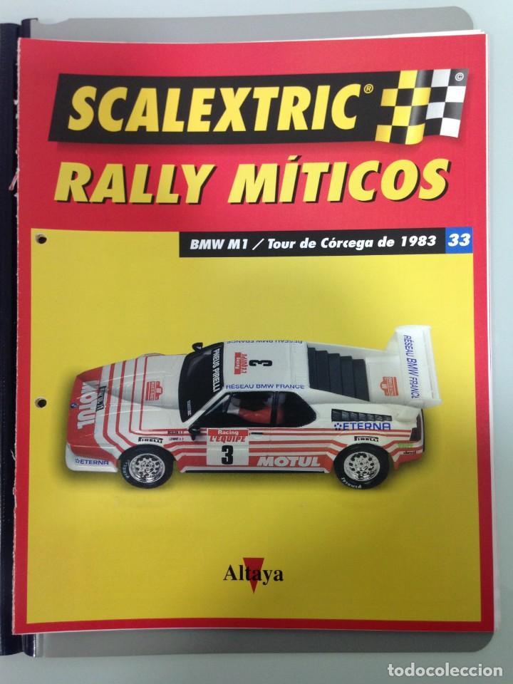 Scalextric: LOTE 12 FASCICULOS SCALEXTRIC RALLY MITICOS, TECNITOYS-ALTAYA, 1-5-9-13-17-21-25-29-33-37-41 Y 45 - Foto 10 - 194605965