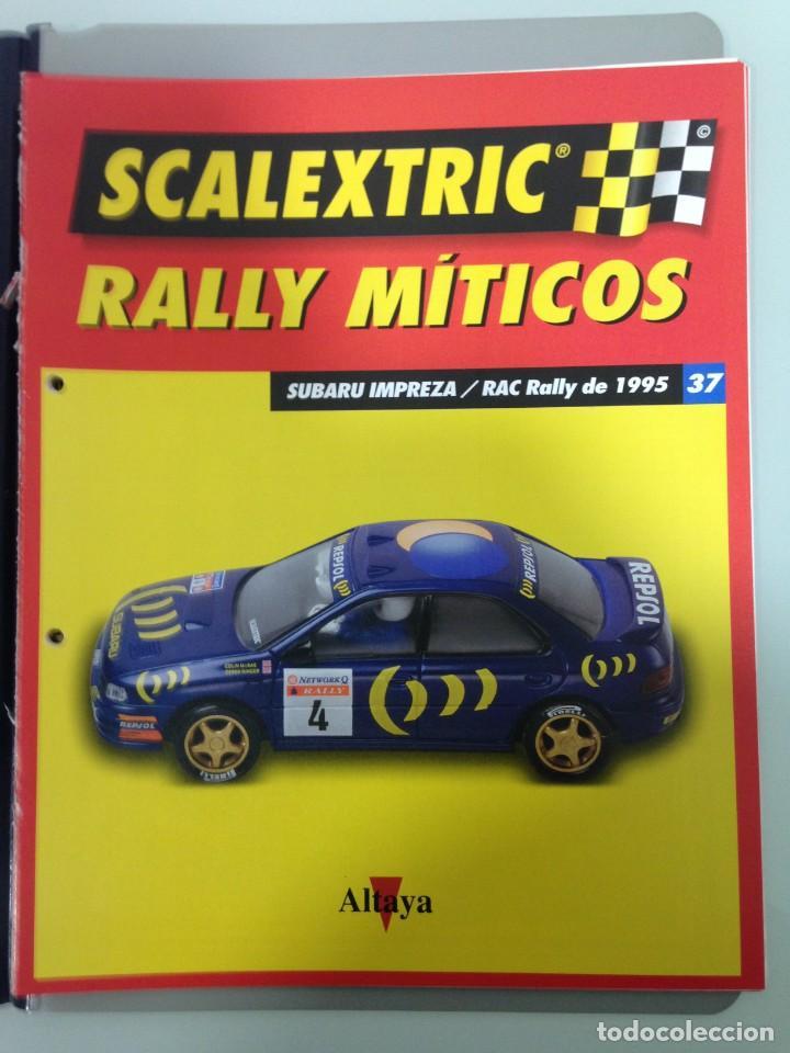 Scalextric: LOTE 12 FASCICULOS SCALEXTRIC RALLY MITICOS, TECNITOYS-ALTAYA, 1-5-9-13-17-21-25-29-33-37-41 Y 45 - Foto 11 - 194605965