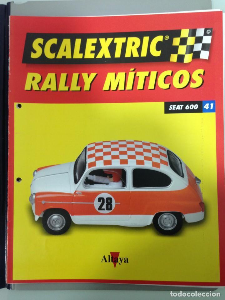 Scalextric: LOTE 12 FASCICULOS SCALEXTRIC RALLY MITICOS, TECNITOYS-ALTAYA, 1-5-9-13-17-21-25-29-33-37-41 Y 45 - Foto 12 - 194605965
