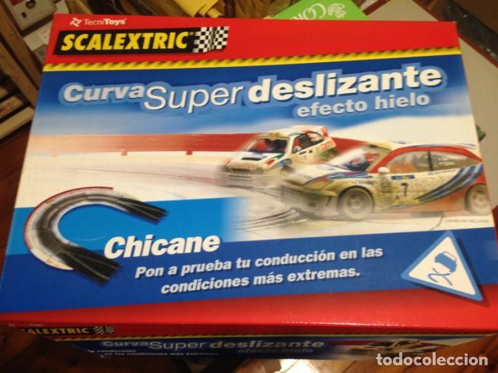 SLOT, SCALEXTRIC 8812 CURVA SUPER DESLIZANTE, CAJA VACÍA NUEVA IDEAL PARA GUARDAR LAS PISTAS (Juguetes - Slot Cars - Scalextric Pistas y Accesorios)