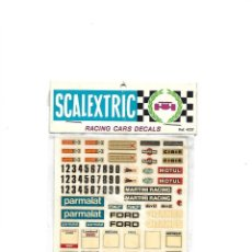 Scalextric: SCALEXTRIC RACING CARS DECALS . Lote 194778466