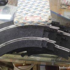 Scalextric: 6 UNIDADES TRAMO CURVAS STANDARD REFERENCIA 3051 SCALEXTRIC EN CAJA. Lote 194875012