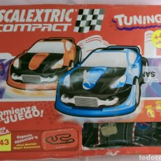 Scalextric: SCALEXTRIC COMPACT TUNING RECORRIDO 7,67M CON 4 MANDOS. Lote 194948937