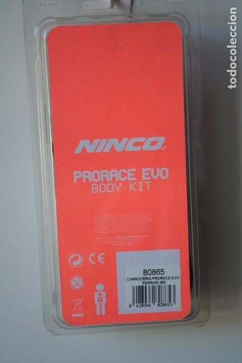 Scalextric: Repuesto NINCO carrocería PRORACE EVO FERRARI 360 Ref. 80865 - Foto 2 - 195080135