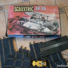 Scalextric: ¡¡¡SCALEXTRIC¡¡G.P.26¡¡¡¡CON 1 COCHE PISTAS Y ACESORIOS¡CAJA ORIGINAL¡¡. Lote 195087212
