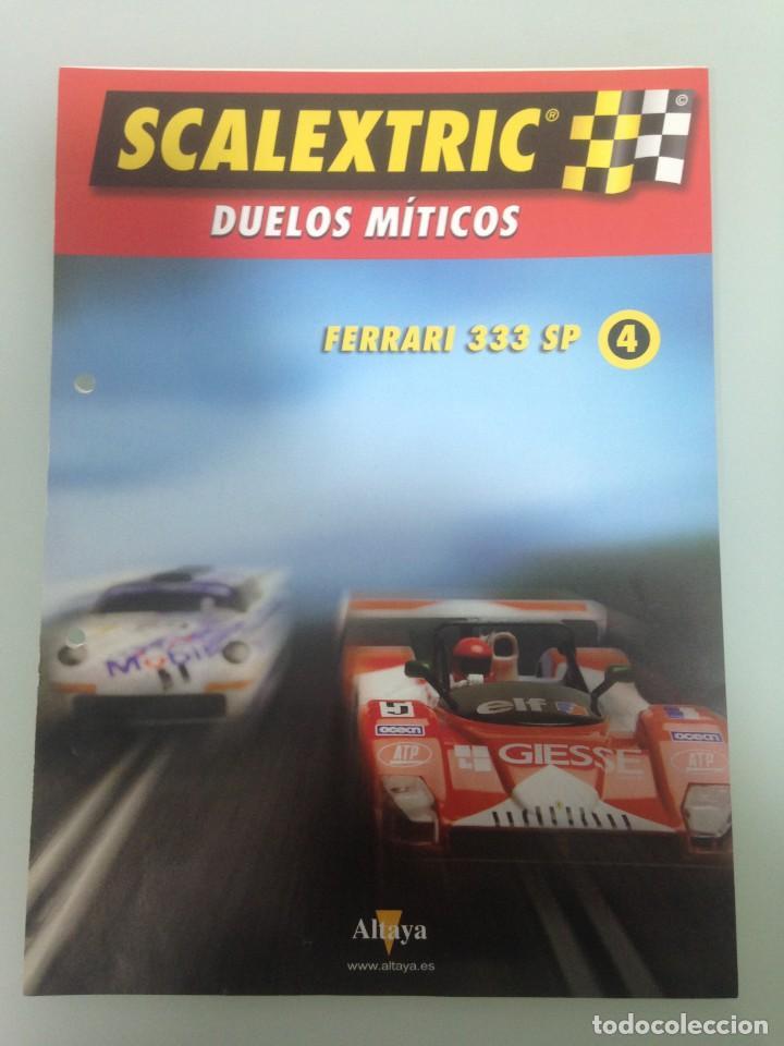 FASCICULO Nº4, SCALEXTRIC DUELOS MÍTICOS (Juguetes - Slot Cars - Scalextric Pistas y Accesorios)