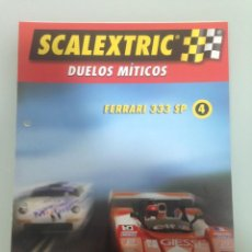 Scalextric: FASCICULO Nº4, SCALEXTRIC DUELOS MÍTICOS. Lote 195133635