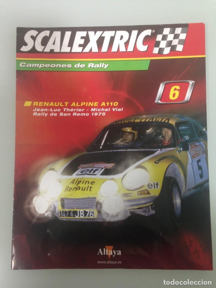 Scalextric: LOTE 4 FASCICULOS SCALEXTRIC CAMPEONES DE RALLY, 6, 7, 8 Y 57 - Foto 2 - 195134451