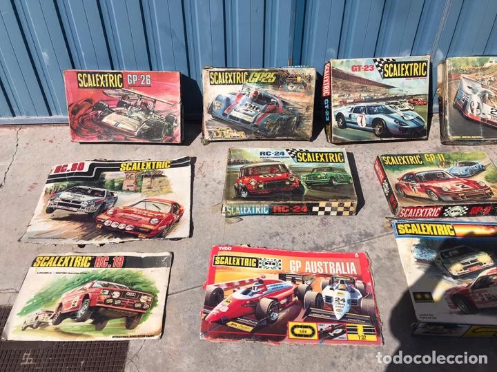 Scalextric: Lote de cajas vacías escalextric antiguas - Foto 2 - 195280605