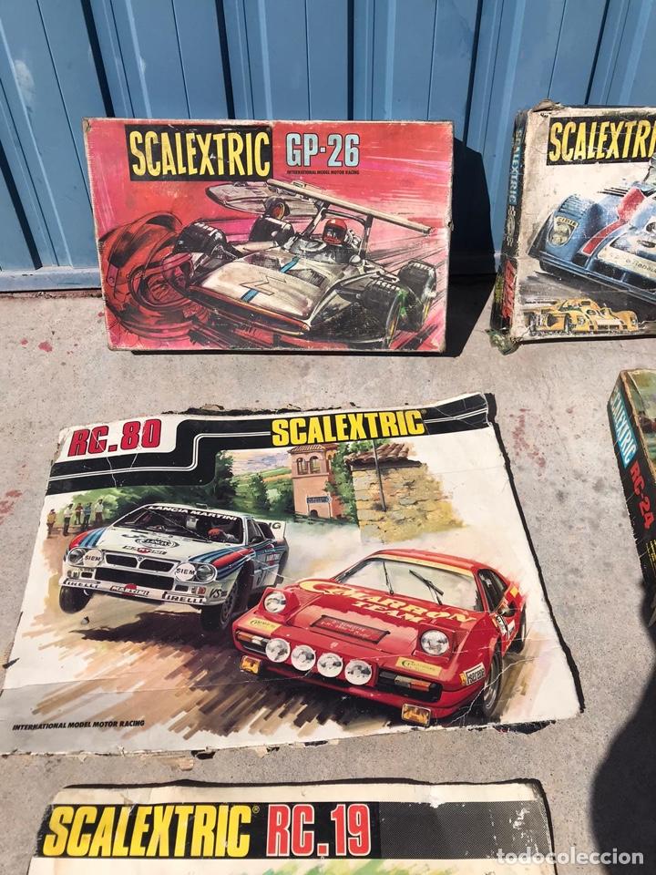 Scalextric: Lote de cajas vacías escalextric antiguas - Foto 7 - 195280605