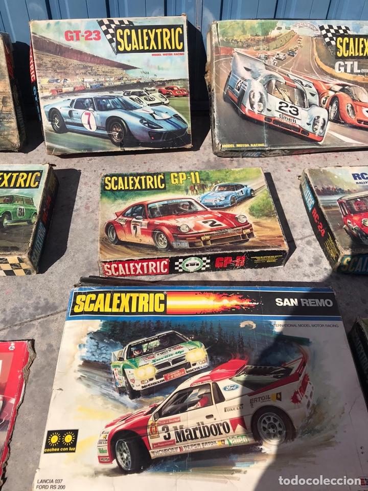 Scalextric: Lote de cajas vacías escalextric antiguas - Foto 8 - 195280605