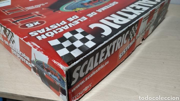 Scalextric: Sistema de elevación de pistas Scalextric en su caja original - incompleto - Foto 3 - 195324007