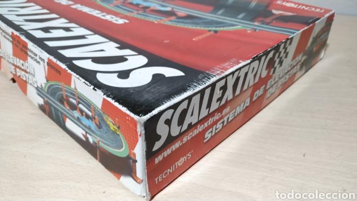 Scalextric: Sistema de elevación de pistas Scalextric en su caja original - incompleto - Foto 4 - 195324007