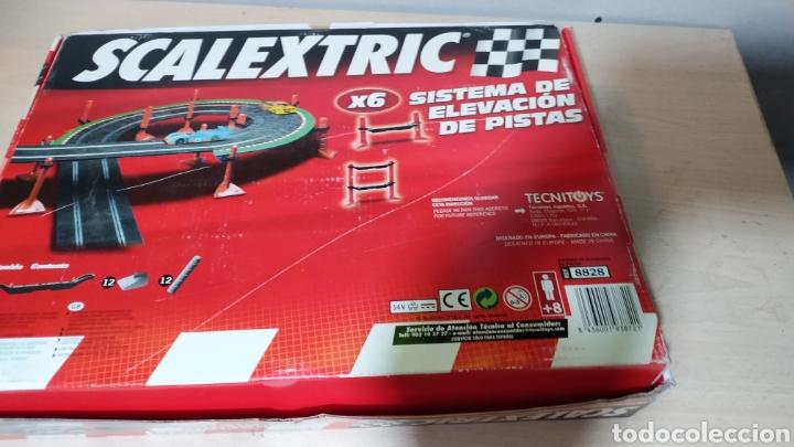 Scalextric: Sistema de elevación de pistas Scalextric en su caja original - incompleto - Foto 6 - 195324007