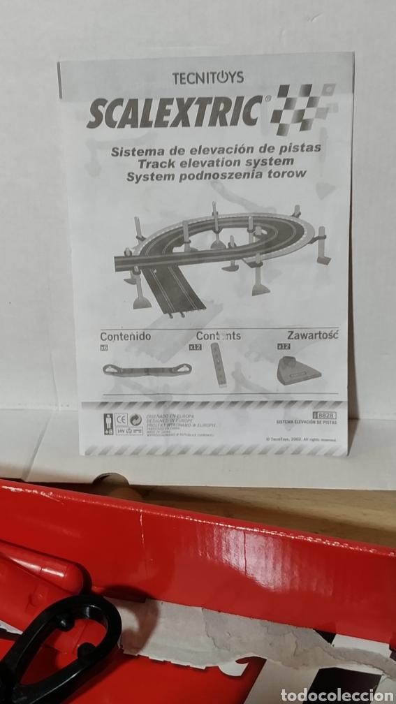 Scalextric: Sistema de elevación de pistas Scalextric en su caja original - incompleto - Foto 7 - 195324007