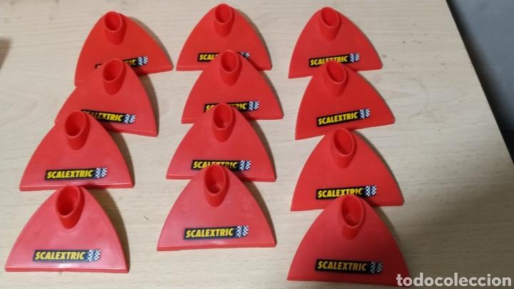 Scalextric: Sistema de elevación de pistas Scalextric en su caja original - incompleto - Foto 9 - 195324007