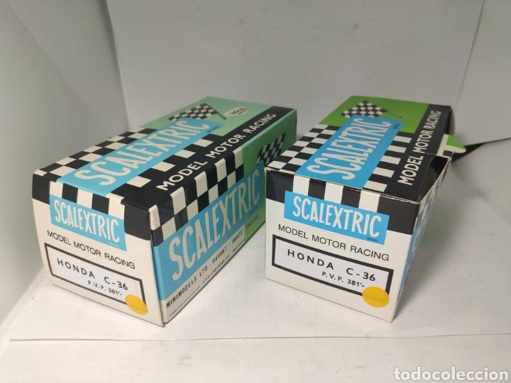 SCALEXTRIC 2 CAJAS REPRO HONDA EXIN C36 (Juguetes - Slot Cars - Scalextric Pistas y Accesorios)