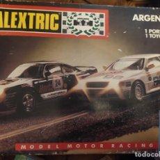 Scalextric: CAJA CON PISTAS SCALEXTRIC ARGENTINA MODELO MOTOR RACING. Lote 197479885