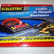 Scalextric: CONTROL DE TIEMPOS ELECTRÓNICO SCALEXTRIC. Lote 198539318