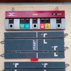 Scalextric: PISTA CENTRAL + 2 PISTAS SALIDA SCALEXTRIC DIGITAL SYSTEM. Lote 198549220