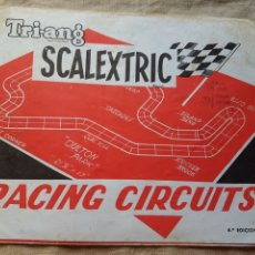 Scalextric: SCALEXTRIC TRI-ANG CIRCUITOS AÑOS 70 W. Lote 199192686