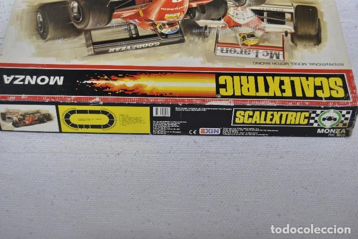 Scalextric: SCALEXTRIC MONZA DOS COCHES 1 FERRARI F1/87 ROJO y 1 MCLAREN MP4 AZUL - Foto 4 - 46632099
