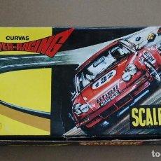 Scalextric: CAJA VACIA SCALEXTRIC CURVAS SUPER RACING - EXIN - REF 3085. Lote 202372447