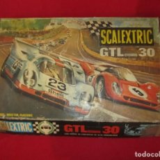 Scalextric: SCALEXTRIC GTLMANS 30 CON COMPLETO. Lote 202709805