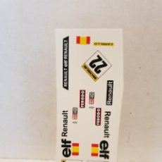 Scalextric: CALCAS AL AGUA RENAULT 5. Lote 202742351