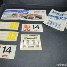 Scalextric: LOTE SRS. Lote 203980456