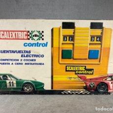 Scalextric: CUENTA VUELTAS ELÉCTRICO SCALEXTRIC -. Lote 204105447