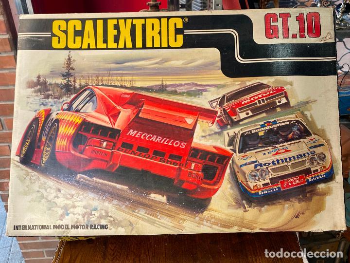 SCALEXTRIC GT.10 FABRICADO POR EXIN LINE GT10 - GT-10 (Juguetes - Slot Cars - Scalextric Pistas y Accesorios)