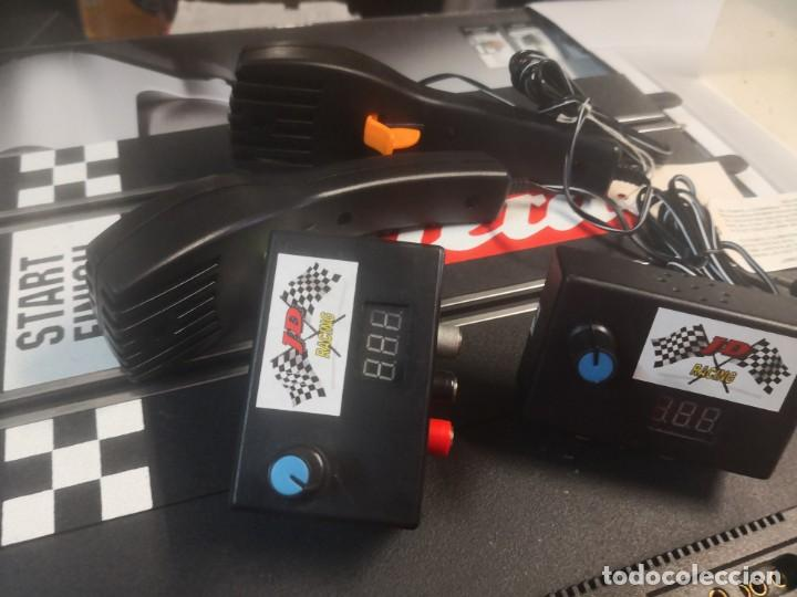 Scalextric: 2 reguladores de Voltaje JD RACING más 2 mandos - Foto 1 - 205696866