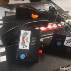 Scalextric: 2 REGULADORES DE VOLTAJE JD RACING MÁS 2 MANDOS. Lote 205696866