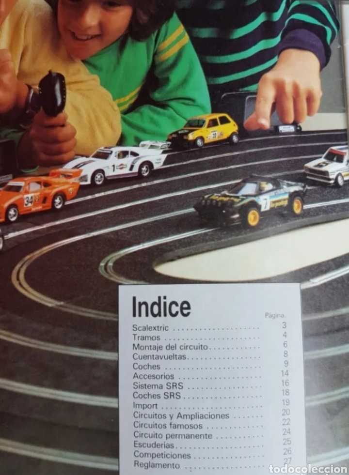 Scalextric: Lote folletos scalextric - Foto 2 - 205820982