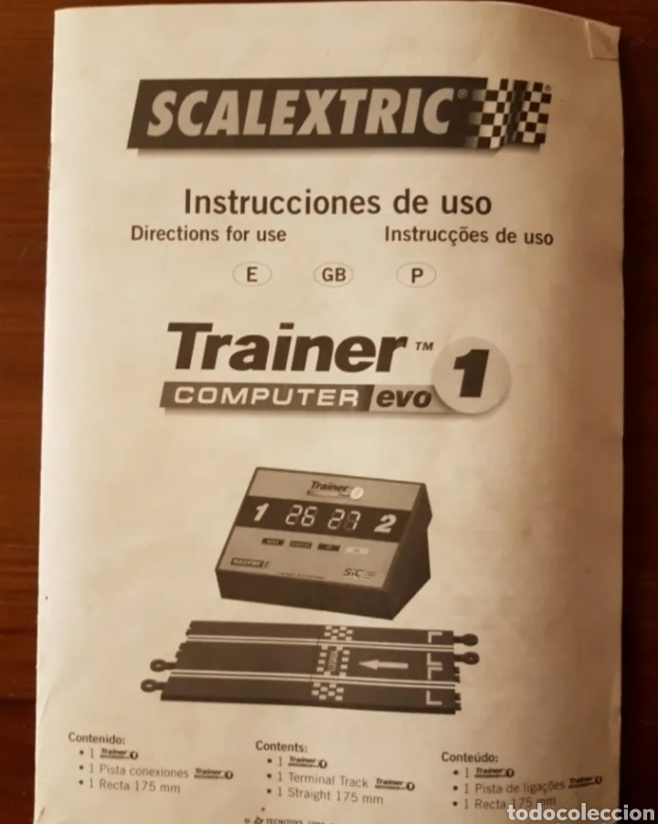 Scalextric: Lote folletos scalextric - Foto 3 - 205820982