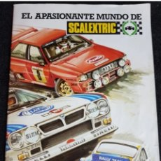 Scalextric: LOTE FOLLETOS SCALEXTRIC. Lote 205820982