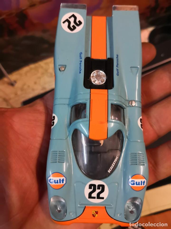 2 CARROCERÍAS PORSCHE 917 Y FORD GT SCALEXTRIC (Juguetes - Slot Cars - Scalextric Pistas y Accesorios)