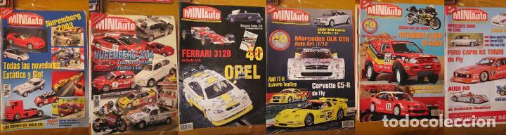 MAGNIFICO LOTE REVISTAS MINIAUTO 29 + 2 DE REGALO MINIAUTO SLOT (Juguetes - Slot Cars - Scalextric Pistas y Accesorios)