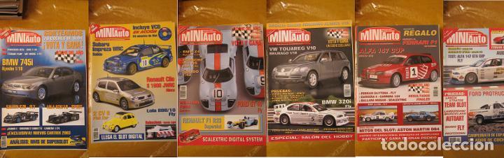 Scalextric: MAGNIFICO LOTE REVISTAS MINIAUTO 29 + 2 DE REGALO MINIAUTO SLOT - Foto 4 - 206767885