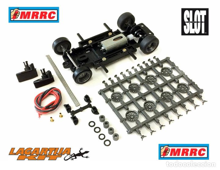 MRRC 1/32 CHASIS COMPLETO SEBRING REGULABLE - 71 / 102 MM SLOT CLASSIC RESIN KIT (Juguetes - Slot Cars - Scalextric Pistas y Accesorios)