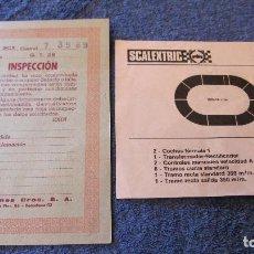 Scalextric: SCALEXTRIC EXIN ORIGINAL: INSPECCION GT 25 Y GP 14. Lote 208815450