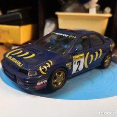 Scalextric: COCHE SCALEXTRIC DE SCX SUBARU WRC Nº2. Lote 209068900