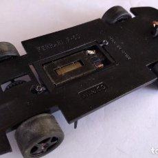 Scalextric: NINCO CHASIS FERRARI F50 CON MOTOR SCALEXTRIC RX2 CON BOBINA VERDE. FUNCIONA. Lote 209863511