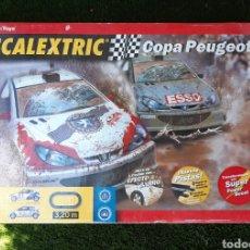 Scalextric: SCALEXTRIC COPA PEUGEOT EN SU CAJA ORIGINAL.. Lote 210176222