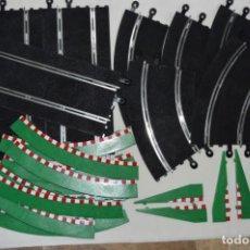 Scalextric: LOTE / MONTÓN - TECNITOYS - PISTAS Y ACCESORIOS VARIADOS - MUY BUEN ESTADO / EXCELENTE ¡MIRA FOTOS!. Lote 210224128