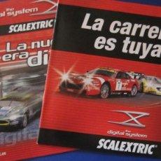 Scalextric: SCALEXTRIC ORIGINAL: DIGITAL SYSTEM: LA CARRERA ES TUYA Y 2006, 2007. Lote 210386031