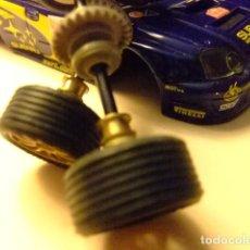 Scalextric: SCALEXTRIC SUBARU IMPREZA WRC ACCESORIO JUEGO RUEDAS. Lote 210418812