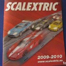 Scalextric: SCALEXTRIC ORIGINAL: CATALOGO 2009 - 2010. Lote 210565541