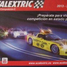 Scalextric: SCALEXTRIC ORIGINAL: CATALOGO 2013 - 2014. Lote 210565877